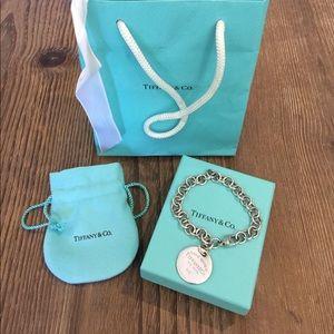 {Not For Sale} Tiffany & Co. Silver Charm Bracelet